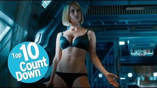 Repeat youtube video Top 10 Needlessly Sexualized Female Movie Characters