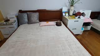 토마리온 침대와 개인온열기 델타 모던퀸