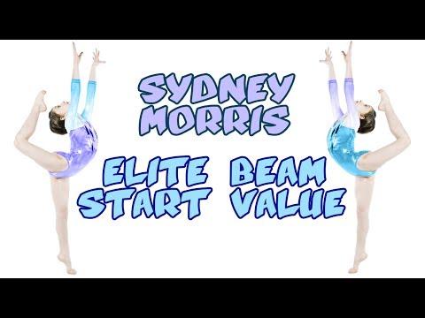 Sydney Morris Beam Start Value
