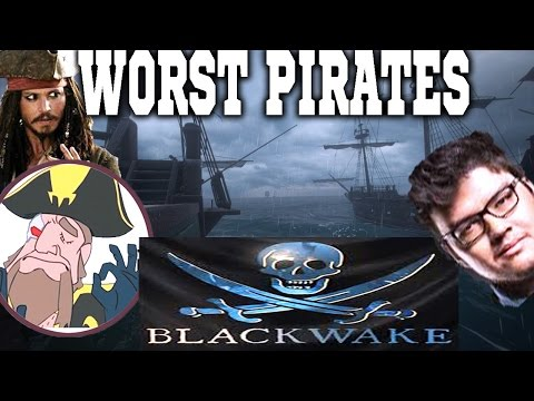 Tobias Fate And Dyrus CREW! WORST PIRATES EVER | BlackWake PART 1