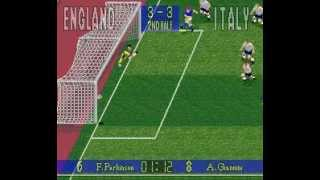 SNES 90 Minute: European Prime Goal - Italy vs England (JP J-League Soccer: Prime Goal 3)