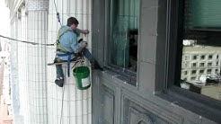 Chicago Window Washing Climber