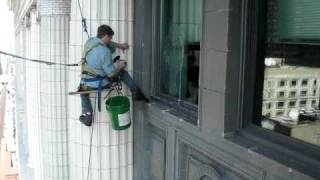Chicago Window Washing Climber