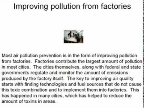 steps to control air pollution essays What are the steps taken by government to reduce environmental pollution update cancel what are the steps taken by the government to control air pollution.