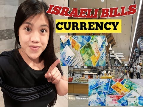 Currency Israel || Israeli Bills || Shekels || Israel Currency To  Peso || Caregiver In Israel