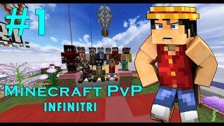 ماين كرو : لعبة الاسبوع #1 Minecraft PvP - Infinitri