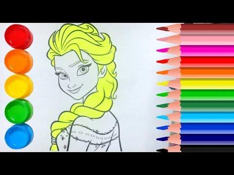 Prenses Boyama çocuklar Için Youtube