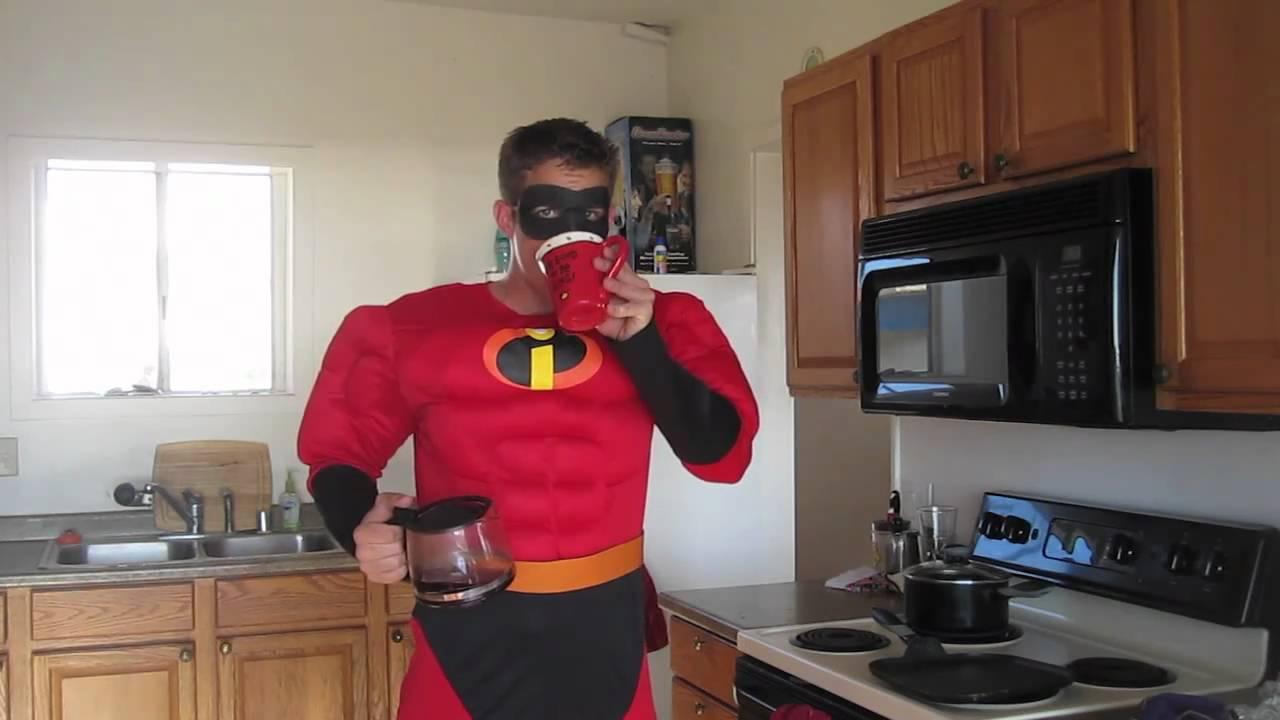 mr incredible halloween costume youtube