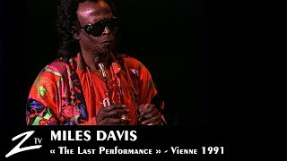"Miles Davis - Human Nature - ""The last performance""- Vienne 1991 LIVE HD"