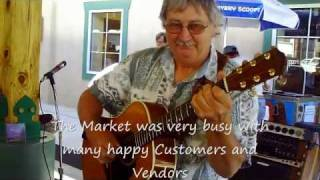 Bernie Coveney plays-Puff the Magic Dragon- Floyd Farmers Market.wmv