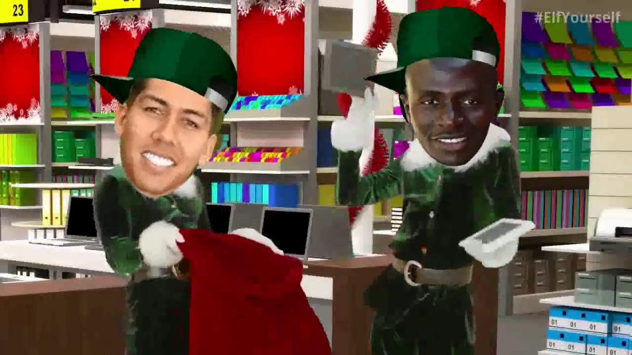LFC Christmas Dance Klopp Salah Firmino Sturridge Mane - YouTube
