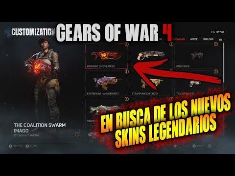 EN BUSCA DE LOS NUEVOS SKINS MIDNIGHT!! GEARS OF WAR 4 |  DIRECTO