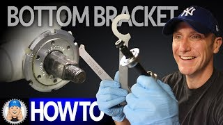 How to Service a Bottom Bracket Clean Install New Bearings (Vintage Square Taper )