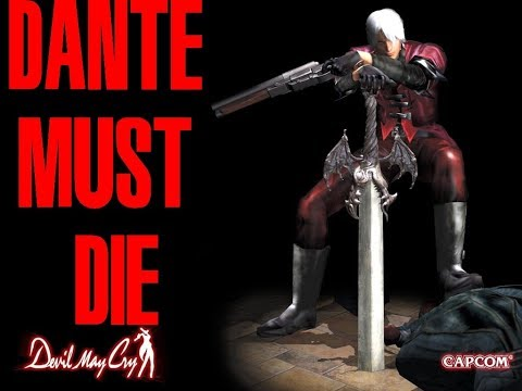 Devil May Cry HD PS4 - Dante Must Die Practice