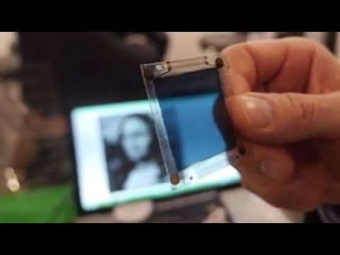 ISORG Contactless 3D Gesture Recognition using Printed Electronics