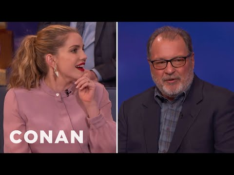 Anna Chlumsky & Kevin Dunn On Meeting Their Real Life Counterparts  - CONAN on TBS