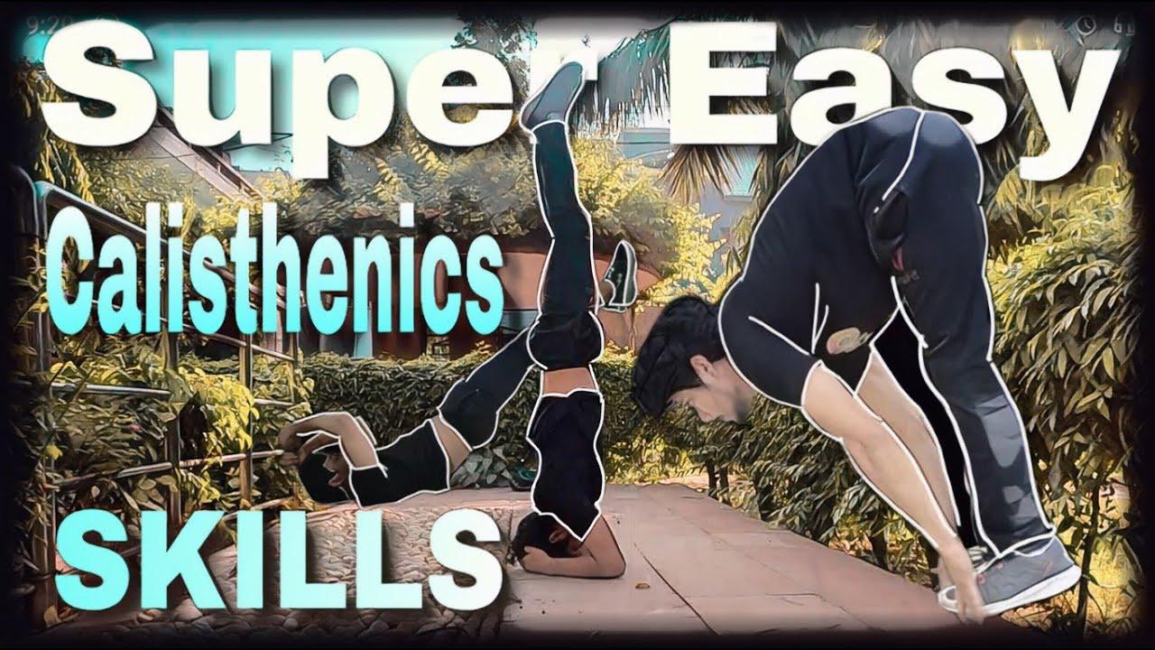 LEARN 3 EASY CALISTHENICS SKILLS (Hindi) | Calisthenics for beginners | Indian Calisthenics | Part 2