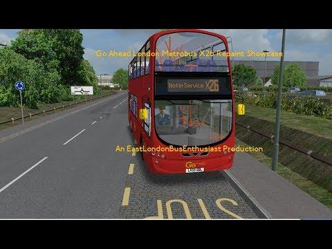 X26 Refurbished Go Ahead London Metrobus Showcase - Omsi 2