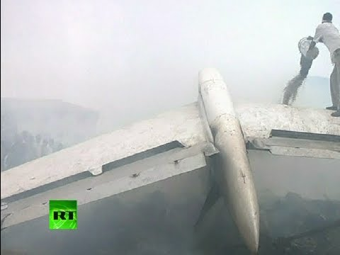 Nigeria plane crash: Video of wreckage, ruins in Lagos