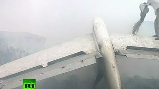 Nigeria plane crash: Video of wreckage, ruins in Lagos