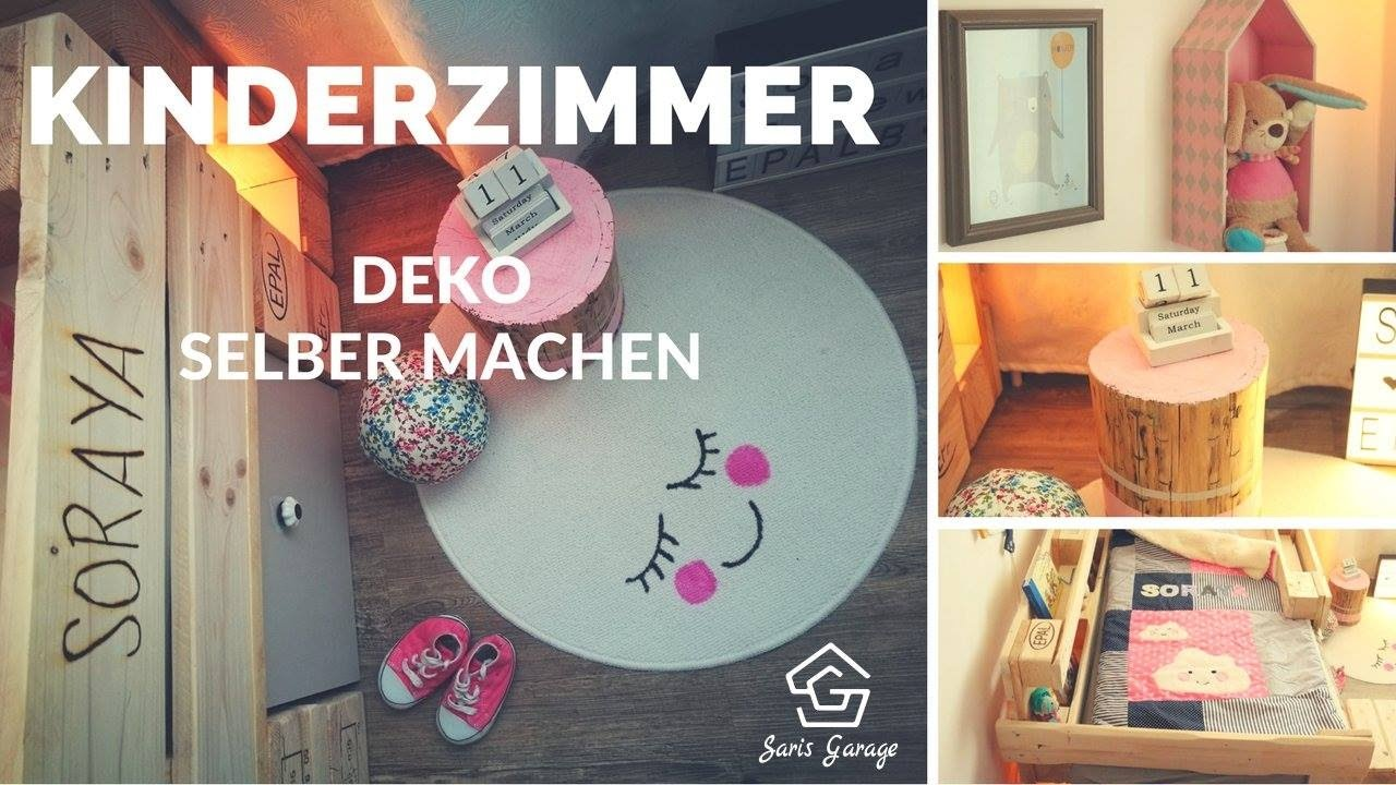kinderzimmer deko selber machen diy einrichten dekorieren deco mach kidsroom youtube. Black Bedroom Furniture Sets. Home Design Ideas
