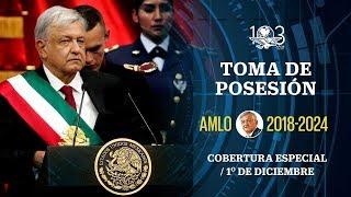 Toma de posesión de AMLO como presidente de México #EnVivo