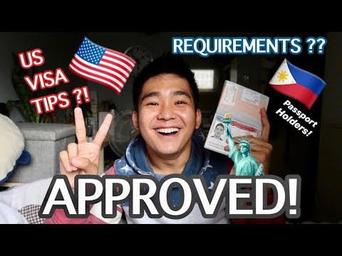 TAGALOG : US VISA APPLICATION TIPS AND EXPERIENCE By Degeee Razon