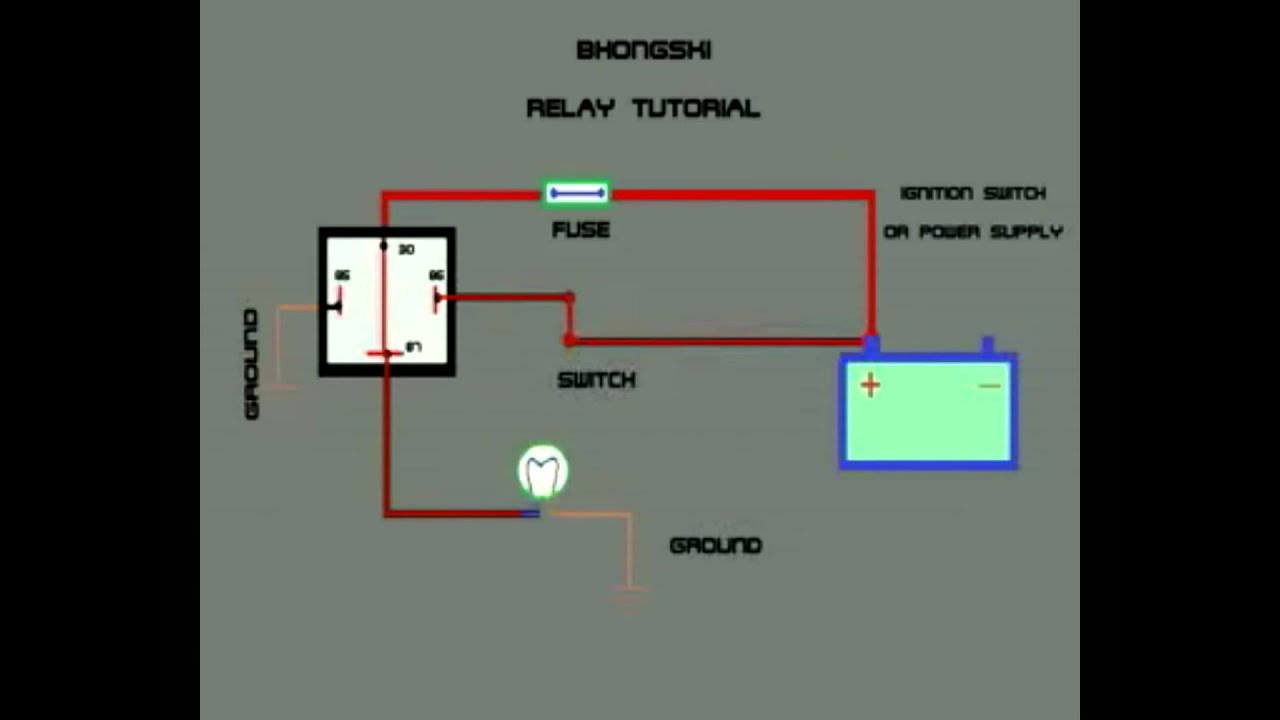 Relay Working Animation How Does A Work Normally Open Electronics Gurukulam