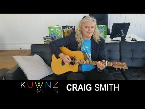KUWNZ Meets Wonky Donkey author Craig Smith