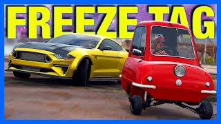 Forza Horizon 4 Online : Freeze Tag!! (FH4 Mini Game)