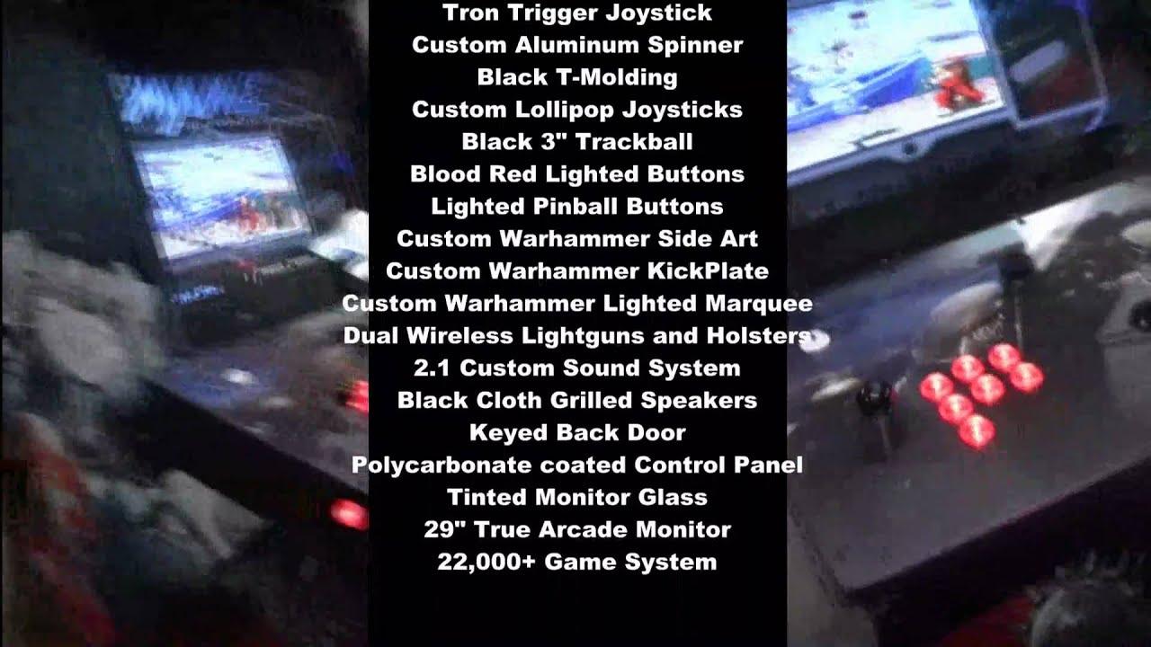 WARHAMMER 40K Dream Arcade Machine mp4