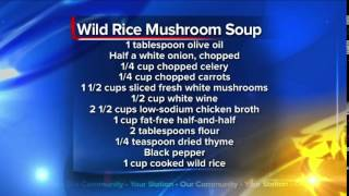What's For Dinner: Wild Rice And Mushroom Soup