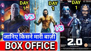2.0 Box office collection | 2.0 Vs Avengers Infinity war vs Aquaman | Akshay kumar,Review Bazaar