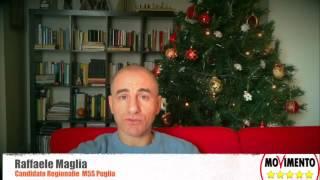 RAFFAELE MAGLIA - CANDIDATO REGIONALIE M5S PUGLIA - GIOVINAZZO