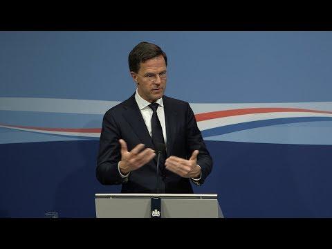 Integrale persconferentie MP Rutte van 6 april 2018