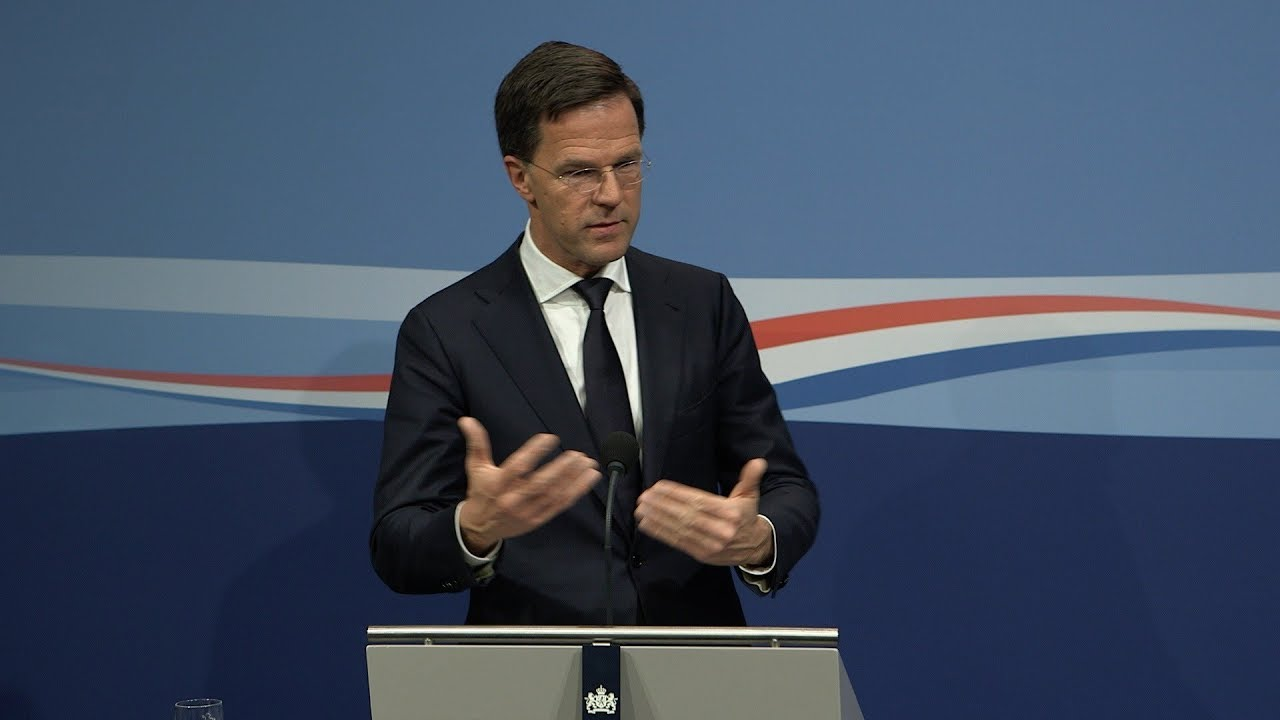 Integrale Persconferentie MP Rutte Van 6 April 2018