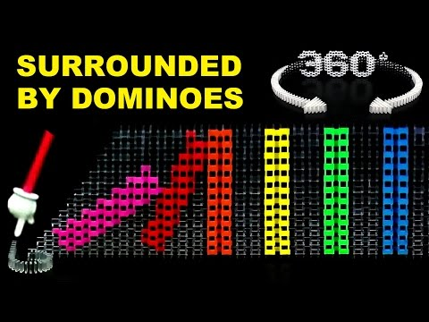 Thumbnail: Surrounded by Dominoes - 360° Video