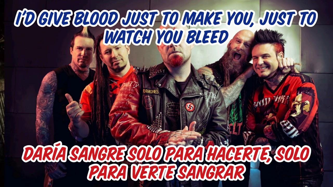 Download Five Finger Death Punch: watch you bleed subtitulado en español e inglés