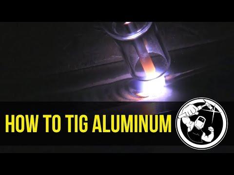 How to TIG Weld Aluminum part 1