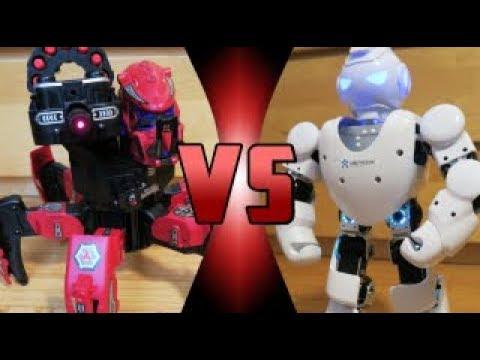ROBOT DEATH BATTLE! - Alpha 1S VS Space Warrior (ROBOT DEATH BATTLE!)