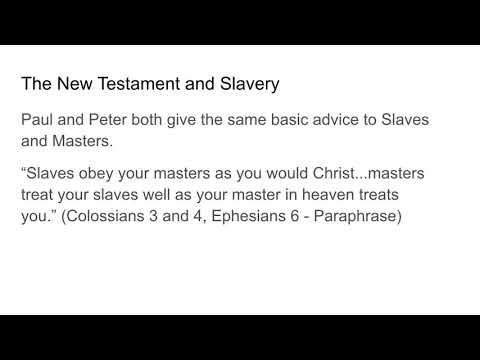 Philemon and Slavery in New Testament Times