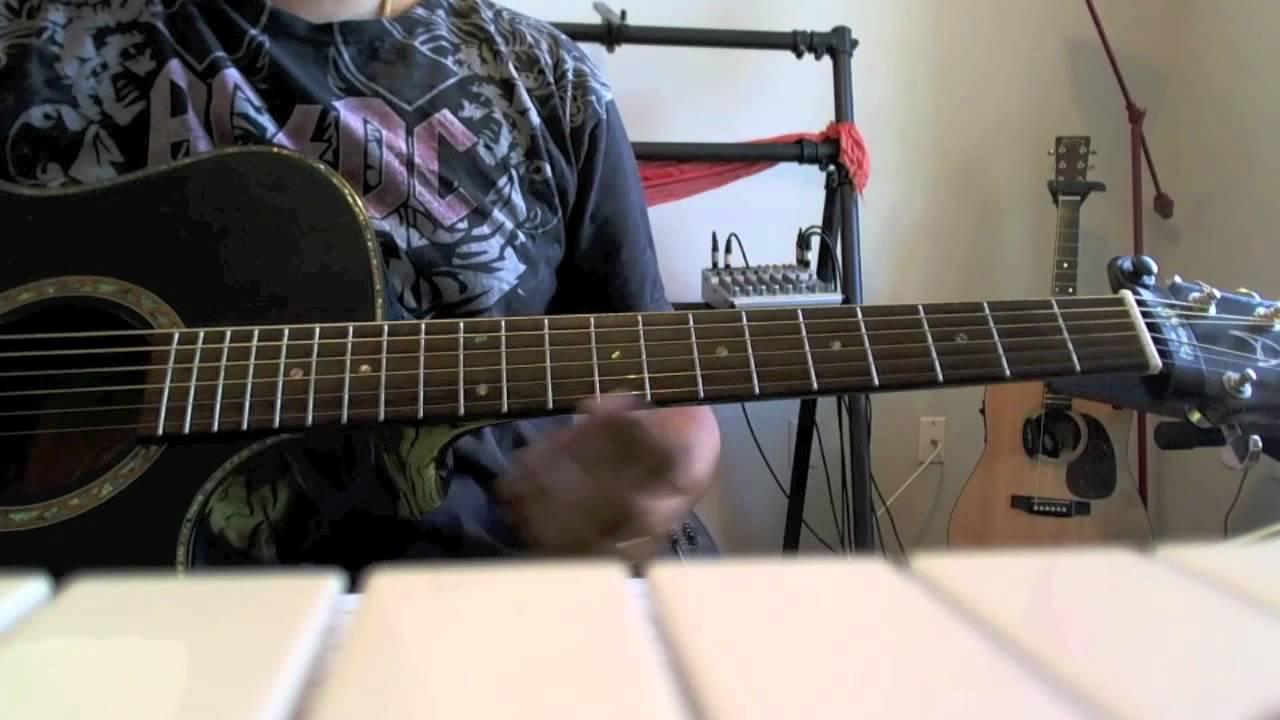 Nenjukkul Peidhidum Guitar Tutorial - YouTube
