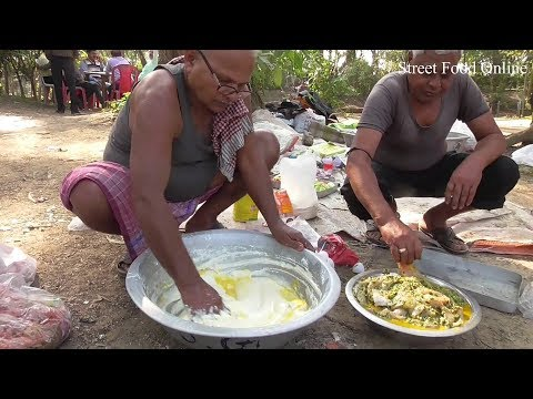 Bhetki Fish Batter Fry Full Preparation | Tasty & Crispy Bengali Food | Street Food Online
