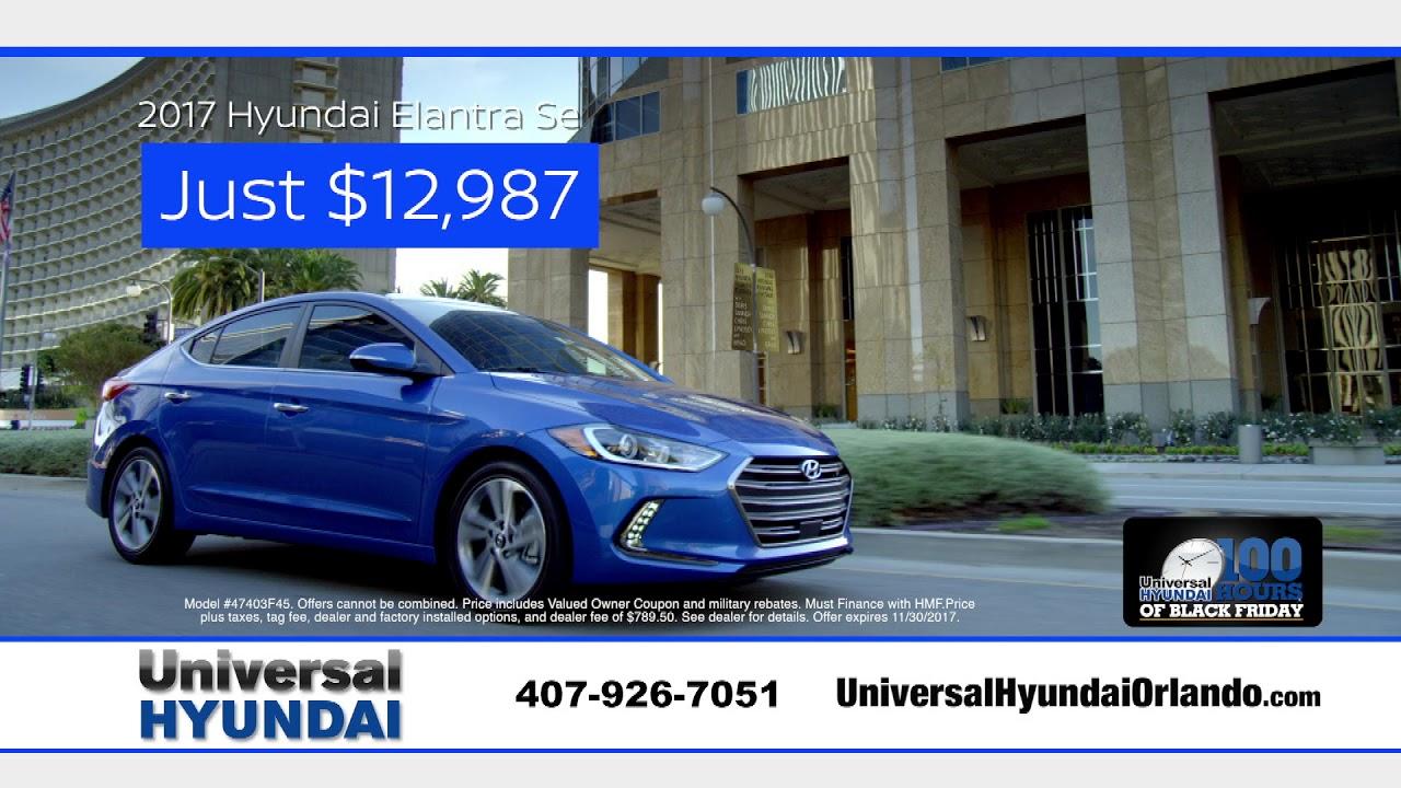 Universal Hyundai - Black Friday Sales Event - YouTube