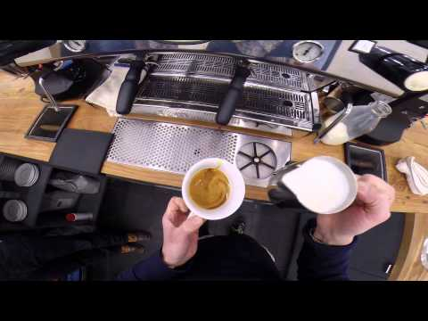 FWx GoPro Cappuccino Cam: Counter Culture, NYC | Food & Wine