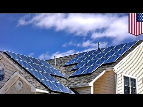 California first state to require solar panels on new homes - TomoNews