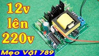 Kích điện 12v lên 220v 150w - Video 4K test thực tế (Zalo 0355 774 789)