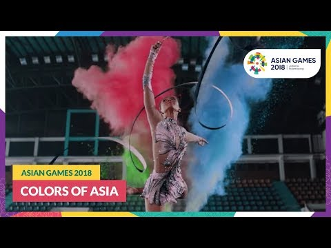 #AsianGames2018 - Colors Of Asia