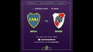 Boca 3 - 1 River | #VamosLasPibas | Fútbol femenino