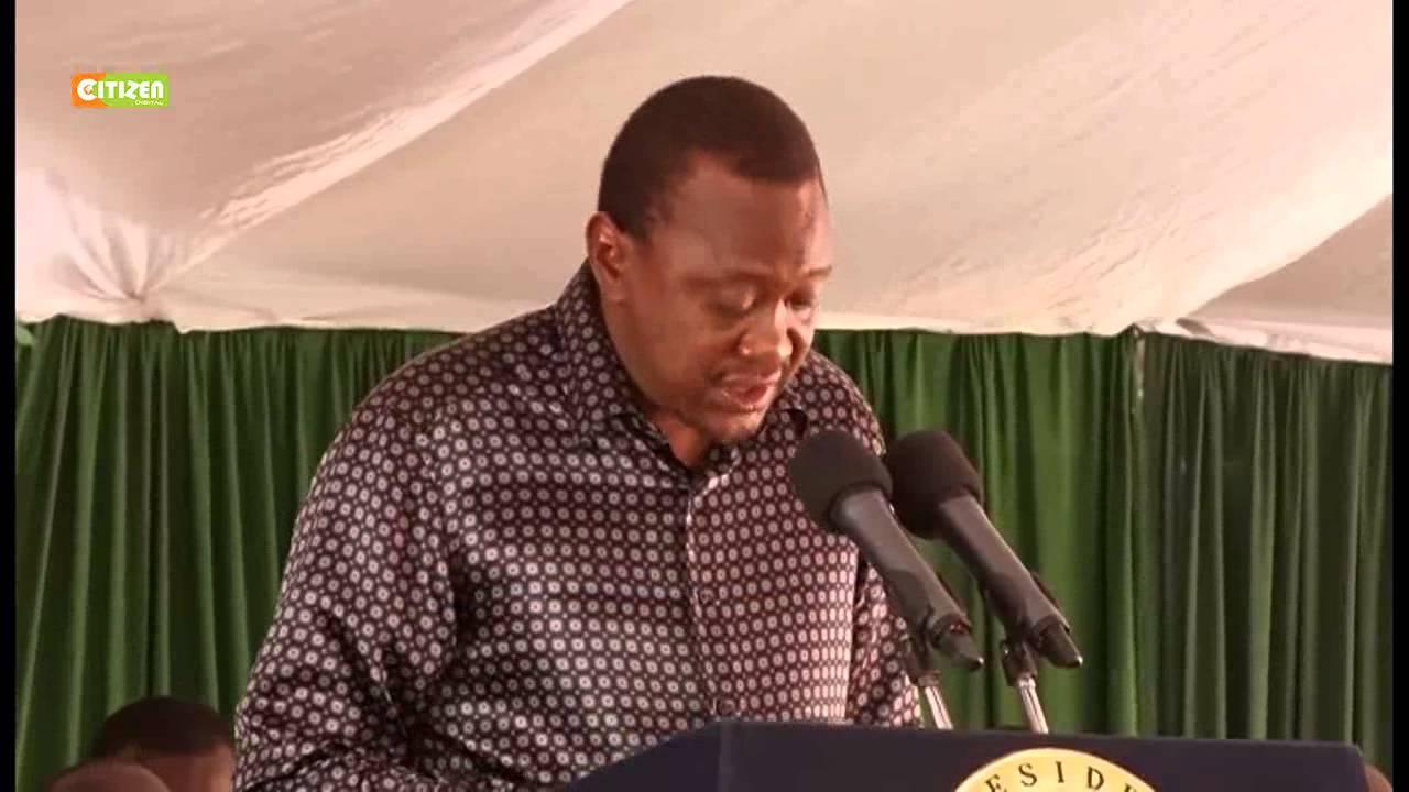 Kenyatta At Pastoralist Leaders Conference
